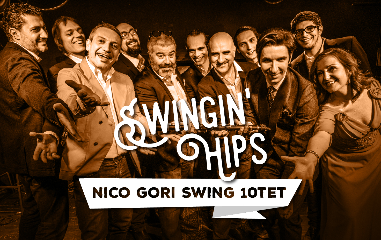 SWINGIN' HIPS – Nico Gori Swing 10tet NEW CD